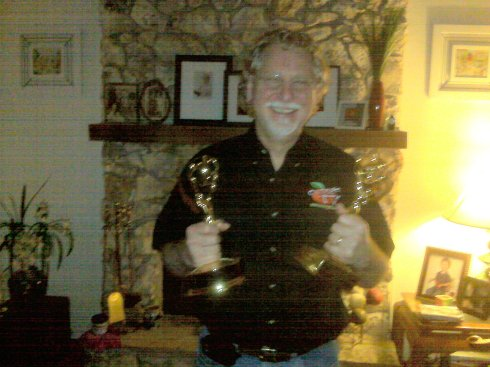 Bill and his Emmys :)
