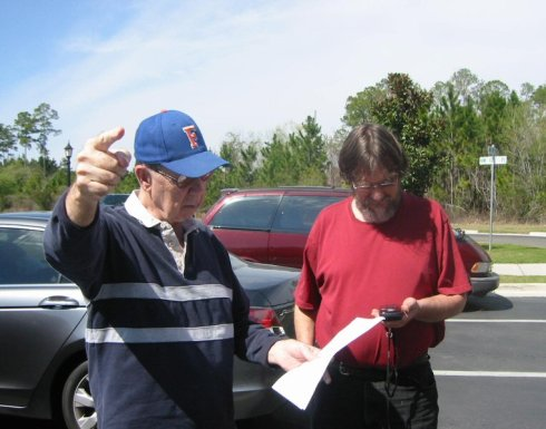Gordon and Greg discuss the first geocache