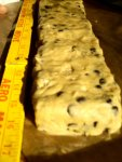biscotti dough log