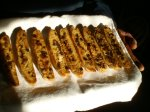 the finished holiday biscotti